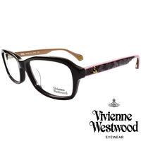 Vivienne Westwood 英國薇薇安魏斯伍德夢幻蕾絲拼接款LOGO光學眼鏡 ^#