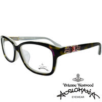 Vivienne Westwood 英國Anglomania貴氣土星~閃亮鑲鑽光學眼鏡 ^