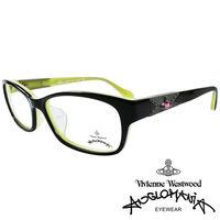 Vivienne Westwood 英國Anglomania復古感 鉚釘光學眼鏡 ^#40
