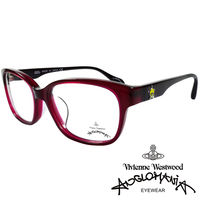 Vivienne Westwood 英國Anglomania五芒土星琥珀撞色光學眼鏡 #4