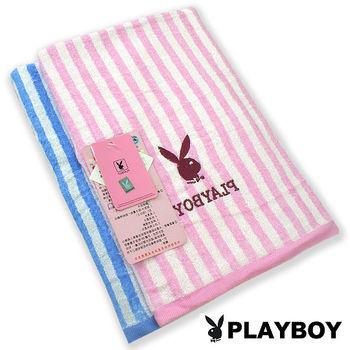 【AILIMI】PLAYBOY瞬間吸水彩條大浴巾(1條組#PY07)
