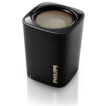 【PHILIPS 飛利浦】BT100B Wireless Bluetooth 無限藍芽隨身喇叭 + 贈收音機