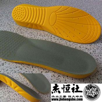 JHS杰恆社鞋墊款141舒適男與超大碼段US8-13運動鞋墊藍球慢跑網球羽球鞋墊前掌0.4cm後跟1.2cm慢彈力PU底層二對