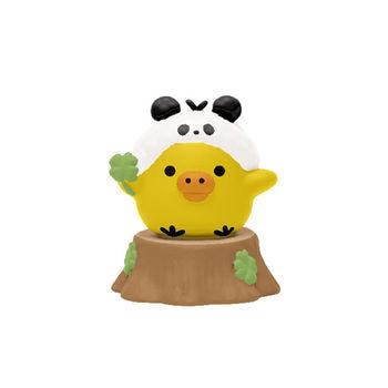 San-X 拉拉熊我愛大貓熊系列迷你盒玩 小雞