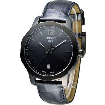 TISSOT T-SPORT 天梭時尚經典運動腕錶 T0954103612700 黑