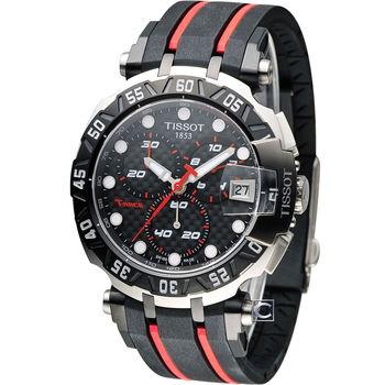 TISSOT T-RACE MOTOGP 限量競速計時腕錶 T0924172720100 黑