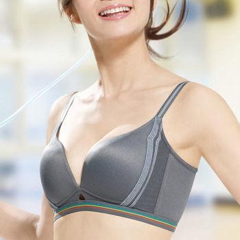 華歌爾 城市輕運動系列B-E罩杯內衣(冰灰)