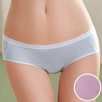 環保天然纖維天絲M-LL中高腰三角褲(水晶紫)