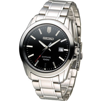SEIKO 紳士品味時尚錶 7N42-0GD0D SGEH49P1 黑