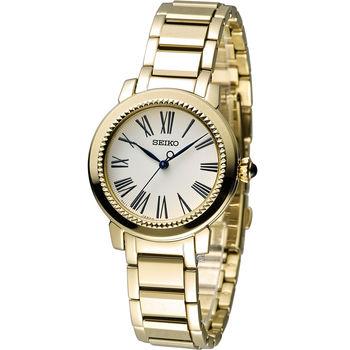 精工錶 SEIKO 小資完美時尚腕錶 7N01-0HS0K SRZ450P1 金色
