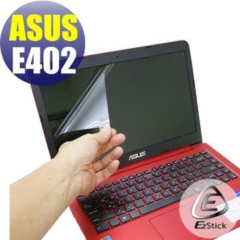 【EZstick】ASUS E402 M 專用 靜電式筆電LCD液晶螢幕貼 (鏡面螢幕貼)