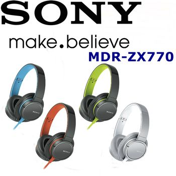 日本內銷 SONY MDR-ZX770 扁線 超好音質 高品質 重低音 耳罩式耳機 4色
