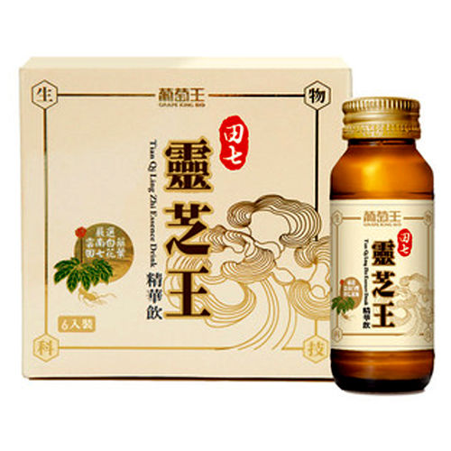 【葡萄王生技】田七靈芝王精華飲超值組(6入/6盒)