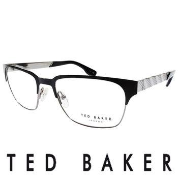 TED BAKER 英倫城市金屬質感造型眼鏡 (銀) TB4195-009