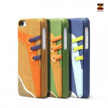 [Apple iPhone 5C] Zenus Sneakers Bar Case 運動風皮套