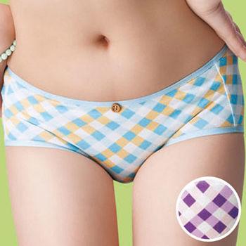 #【嬪婷】 吊帶美妹M-LL平口褲(甜心紫)