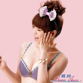 嬪婷-甜美公主風D-E罩杯內衣(甜心紫)
