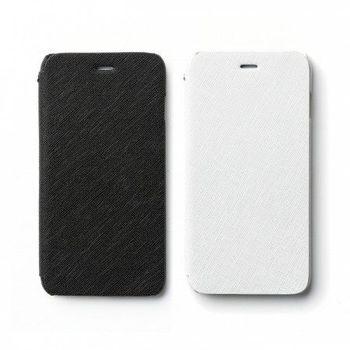 [Apple iPhone 6 Plus (5.5)] Zenus Minimal Diary 商務十字紋 書本式皮套