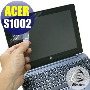 【EZstick】ACER Aspire One 10 S1002 專用 靜電式筆電LCD液晶螢幕貼 (鏡面防汙螢幕貼)