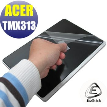 【EZstick】ACER Travelmate TMX313 專用 靜電式筆電LCD液晶螢幕貼 (鏡面螢幕貼)