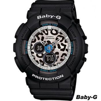 卡西歐 CASIO Baby-G 新街頭時尚 運動錶 BA-120LP-1A 黑