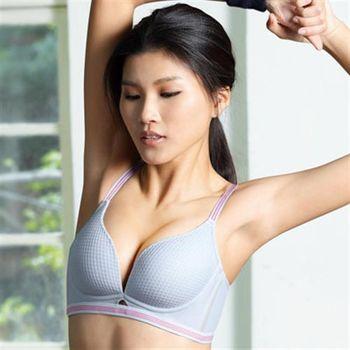 【華歌爾】凍cool & 愛運動B-E罩杯內衣(凍感灰)
