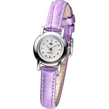 Rosemont 骨董風玫瑰IV系列淑女錶 TRS-019-03-VI 紫色