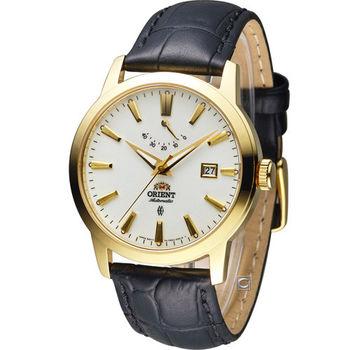 東方錶 ORIENT 經典紳士動力儲存機械錶 FFD0J002W 金色