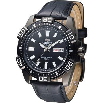 東方錶 ORIENT 競技運動機械錶 FEM7R004B 黑