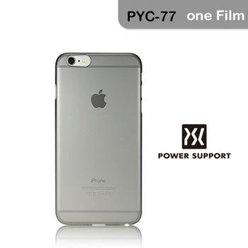 POWER SUPPORT iPhone6s Plus / 6 Plus Air jacket 保護殼- 霧透黑(附螢幕保護貼)