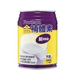【金補體素營養奶水237mlX24入】鉻100 原味不甜