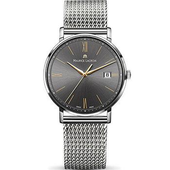 Maurice lacroix 艾美 ELIROS系列時尚紳士腕錶 1087-SS002-812-1 灰x鋼帶