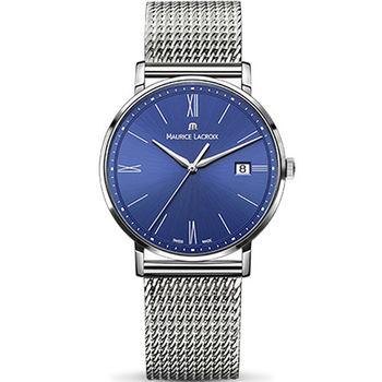 Maurice lacroix 艾美 ELIROS系列時尚紳士腕錶 1087-SS002-410-1 藍x鋼