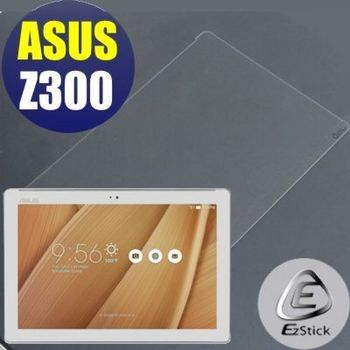 【EZstick】ASUS ZenPad 10 Z300 C 平板專用 鏡面鋼化玻璃膜 靜電吸附