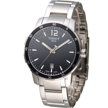 TISSOT T-SPORT 天梭時尚經典運動腕錶 T0954101105700 黑