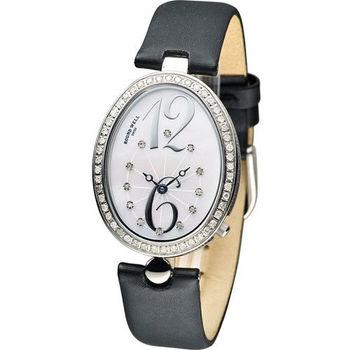 ROUND WELL 浪威 絕世名伶仕女腕錶 RW3072-S 白x黑