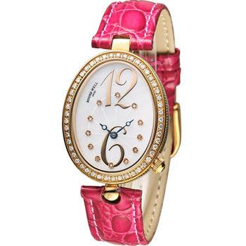 ROUND WELL 浪威 絕世名伶仕女腕錶 RW3072-G 紅x玫瑰金色