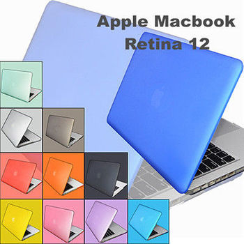 【EZstick】APPLE MacBook 12 專用 彩色保護殼