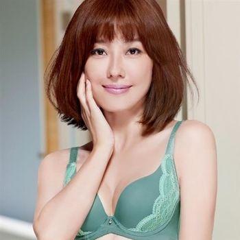 【Audrey】浪漫素体美人 大罩杯B-E罩內衣(湖水綠)
