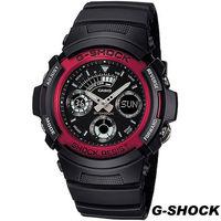 CASIO G ^#45 SHOCK 雙顯 錶 AW ^#45 591 ^#45 4A 黑