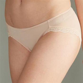 華歌爾 輕柔細緻M-LL低腰三角褲(沙礫褐)