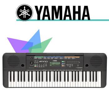 【YAMAHA 山葉】61鍵手提式電子琴-公司貨保固(PSR-E253)