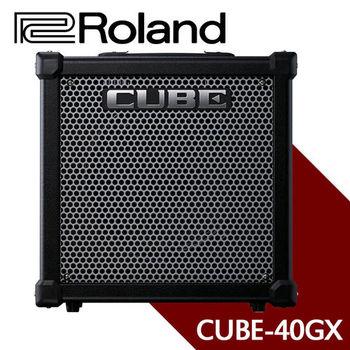 【ROLAND 樂蘭】40瓦吉他擴大音箱-公司貨 (CUBE-40GX)