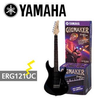 【YAMAHA 山葉】GIGMAKER電吉他套組/黑色-公司貨 (ERG121UC)
