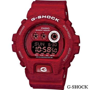 CASIO G-SHOCK 輕時尚繽紛運動錶 GD-X6900HT-4 紅