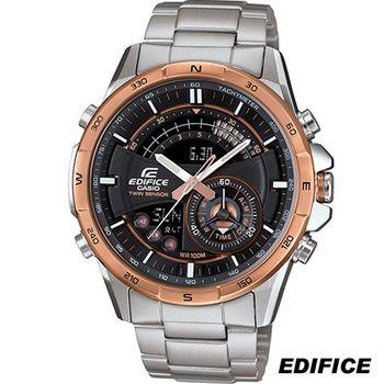 卡西歐 CASIO EDIFICE 雙重感應器雙顯錶 ERA-200DB-1A9