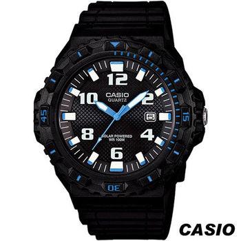 CASIO 卡西歐 MRW-S300H系列潛水運動風錶 MRW-S300H-1B2 黑