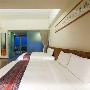 【台東】鹿鳴溫泉酒店-4人溫泉客房一泊一食