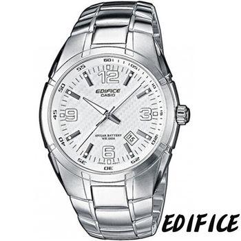 CASIO EDIFICE 俐落簡約時尚錶 EF-125D-7A 白色
