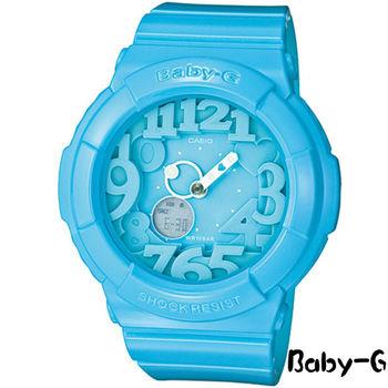 CASIO Baby-G 霓虹時尚 運動錶 BGA-130-2B
